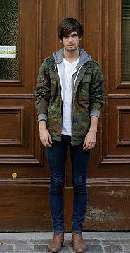 【メンズファッション】ミリタリージャケット&迷彩柄(カモフラ)の着こなし・コーディネート集 - NAVER まとめ