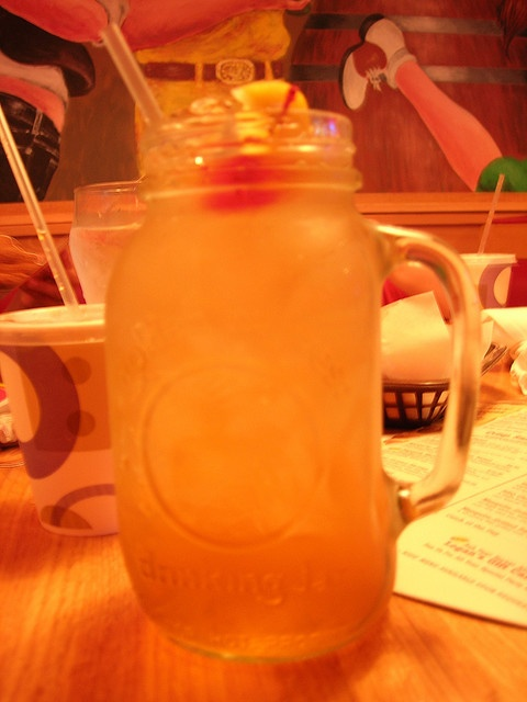 Logan's Roadhouse Tea...they can only serve you 2 of these bad boys per visit! So yummy