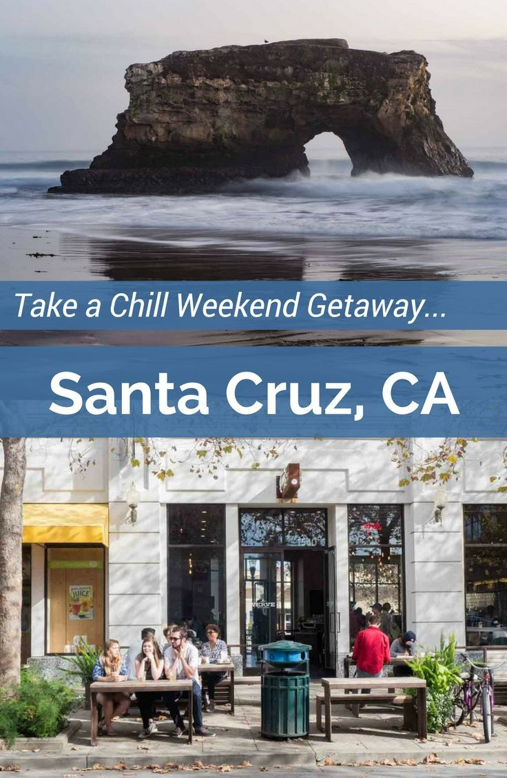 Visit Santa Cruz for a perfectly chill weekend getaway. Things to do in Santa Cruz include the Beach Boardwalk, great restaurants, hiking and shopping