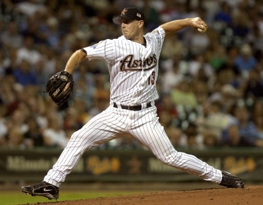 Broke his left arm twice when he was young and LEARNED how to throw Lefty... Apparently, he mastered it... It was COMMON for him to hit 100 MPH on the radar gun!
