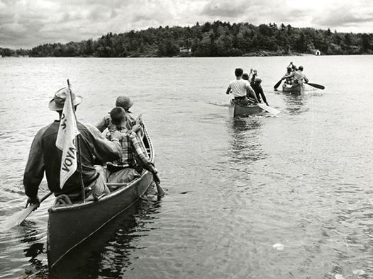 Georgian Bay Islands National Park in Ontario has been welcoming canoer's since the 1960's!  Photo: Parks Canada