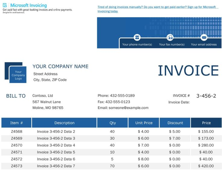 Invoices Office Intended For Xl Invoice Template 10