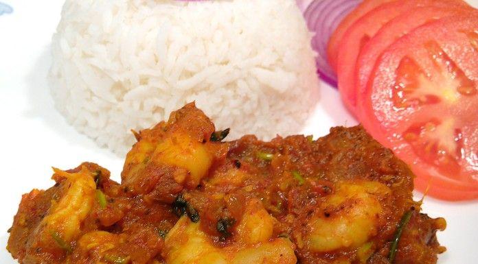 Goan Dish Prawn Balchao