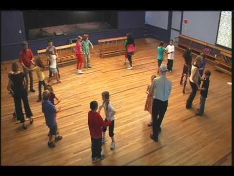 ▶ New England Dancing Masters - Dancing the Circle Waltz Mixer - YouTube