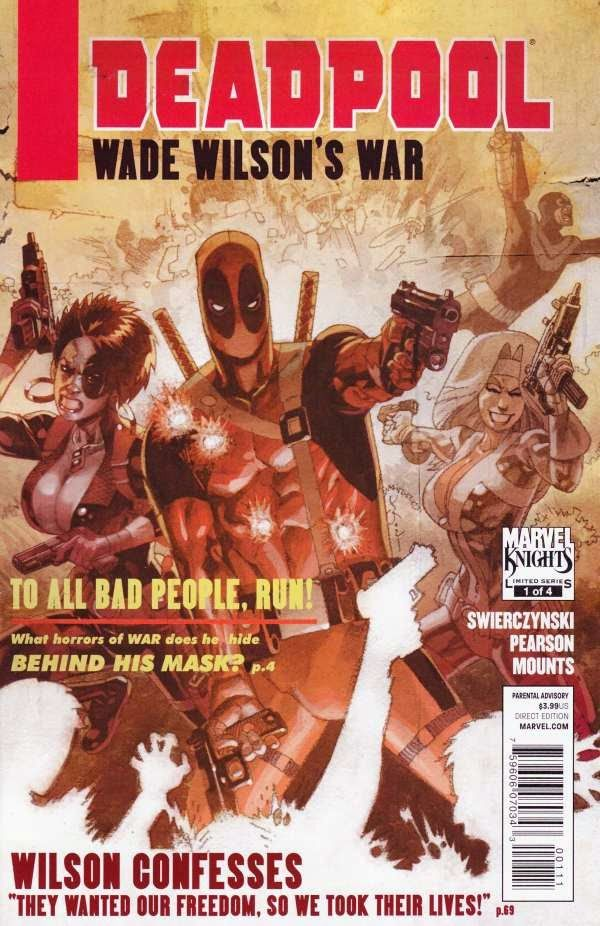 Universo del Comic: Deadpool (Masacre) Wade Wilson´s War ESPAÑOL (MEGA)