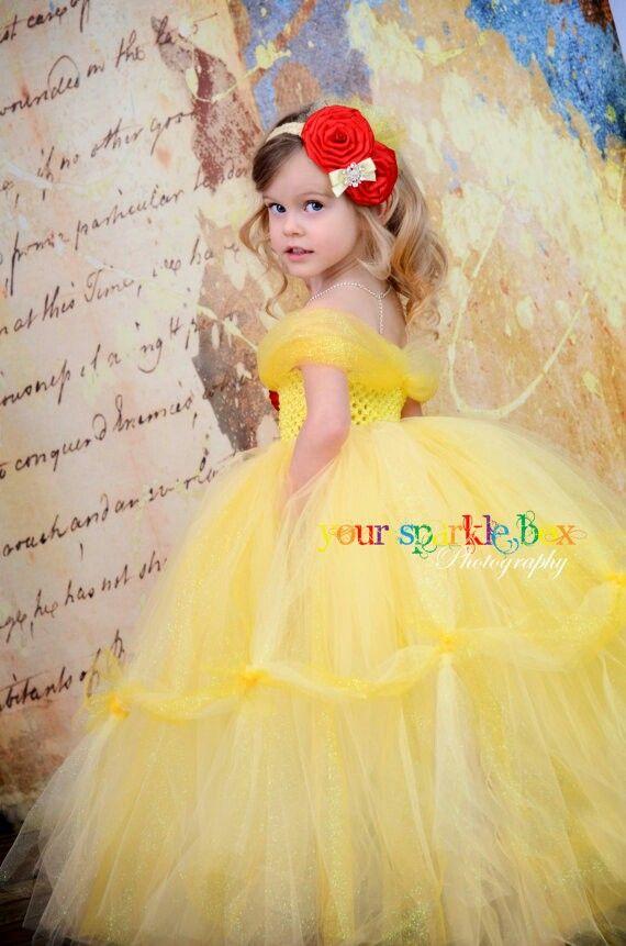 Belle dress for Peyton