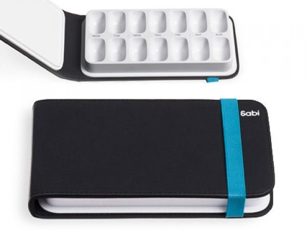 The Grommet team discovers Sabi whose line of modern pill organizers, including a daily organizer, weekly organizer, pill crusher, pill bottle and a water bottle with built-in pill case elevates one of life's most common routines.