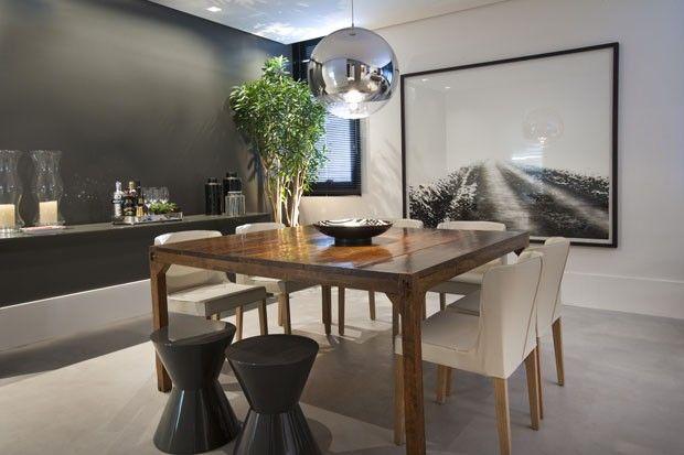 Arquitetura e d cor minimalistas renovam apartamento de for Apartamentos minimalistas