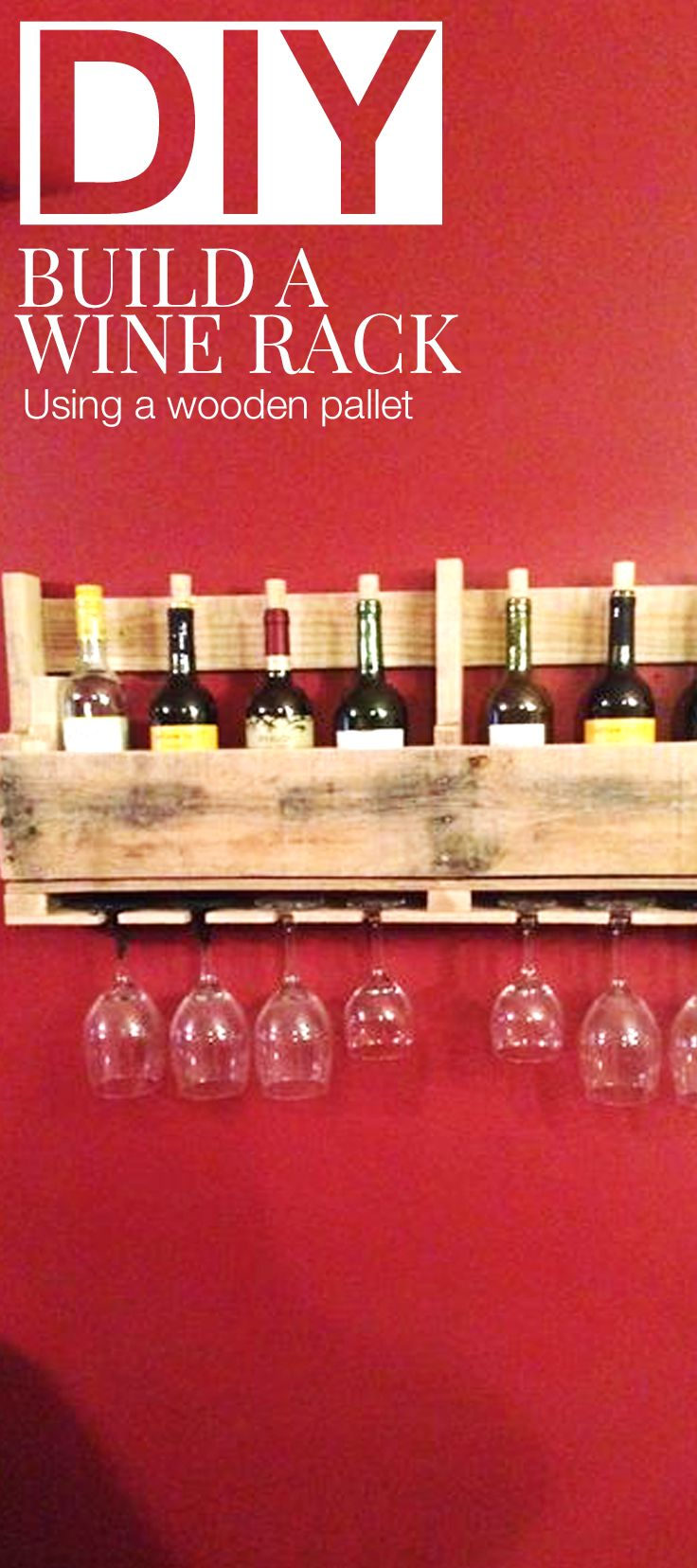 Wood Pallet Ideas How To Build A Wine Rack From A Wood