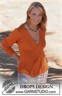 DROPS 82-3 - DROPS Pullover in Muskat - Free pattern by DROPS Design