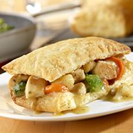 Campbell's Chicken Pot Pie Squares Recipe
