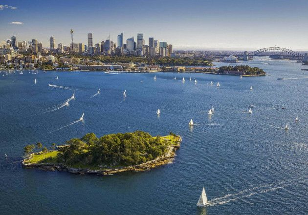 There's a Huge Wine Festival Taking Over this Sydney Harbour Island