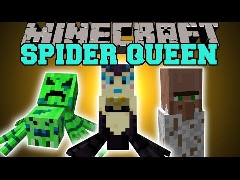 Minecraft: YOU ARE THE SPIDER QUEEN (CREATE YOUR OWN SPIDER ARMY!) Mod Showcase - YouTube