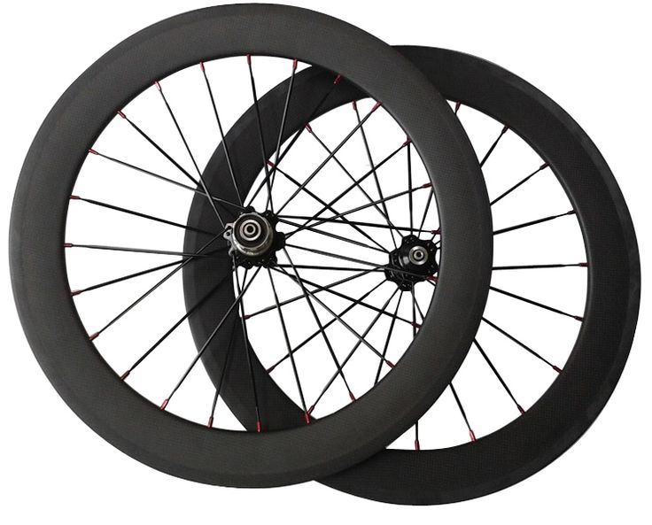 378.10$  Watch now - http://alikyv.shopchina.info/1/go.php?t=32803192699 - cheap price 20inch fold kid road bike carbon fiber BMX 451 wheelset o.l.d 74mm 130mm front 20 holes rear 24/28 holes  #magazineonlinebeautiful