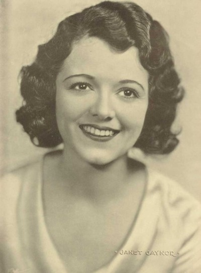 happy birthday, Janet Gaynor - the first actress to win the Academy Award for Best Actress, for her roles in Sunrise (imo the greatest silent film of all), 7th Heaven (another masterpiece) and Street Angel. She was also wonderful in Lucky Star, Sunny Side Up and the original A Star Is Born.