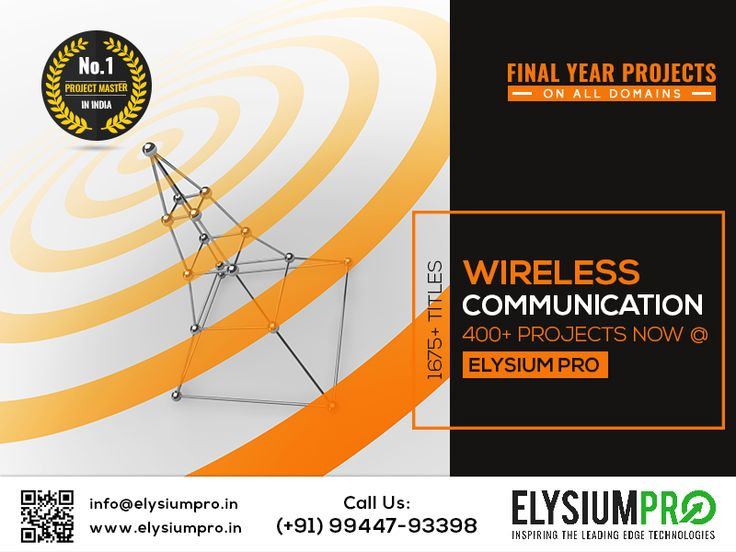 #ElysiumPro #FinalYearProjects #IEEEFinalYearProjects #EngineeringProjects #ProjectTraining Implement your wireless project ideas and Do your own Project with domain experts @ ElysiumPro