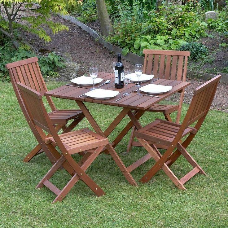 Five Piece Garden Dining Set / Victoriana