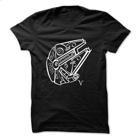 Millennium Falcon [Artist Rendering 2] - #personalized hoodies #men t shirts. SIMILAR ITEMS => https://www.sunfrog.com/No-Category/Millennium-Falcon-[Artist-Rendering-2].html?60505