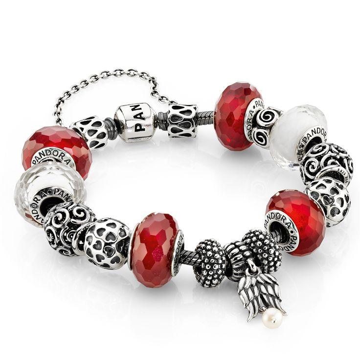PANDORA - Bracelets à charms personnalisables