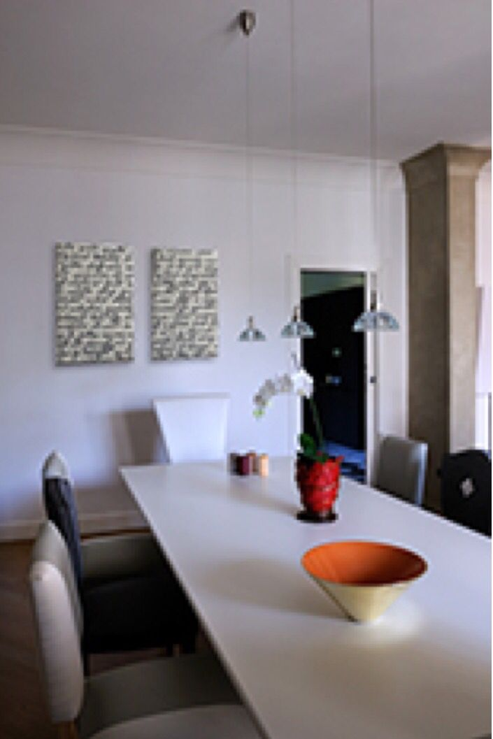 Detail Dining Room. My project. Foto Gianni Franchellucci  Case Contemporanee