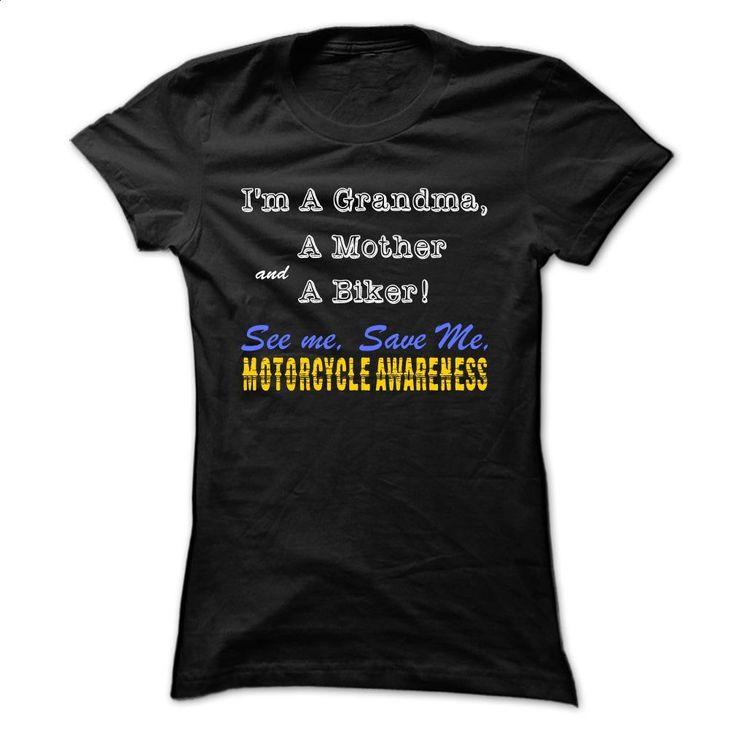 See Me Save Me Motorcycle Awareness [Grandma Moth T Shirts, Hoodies, Sweatshirts…