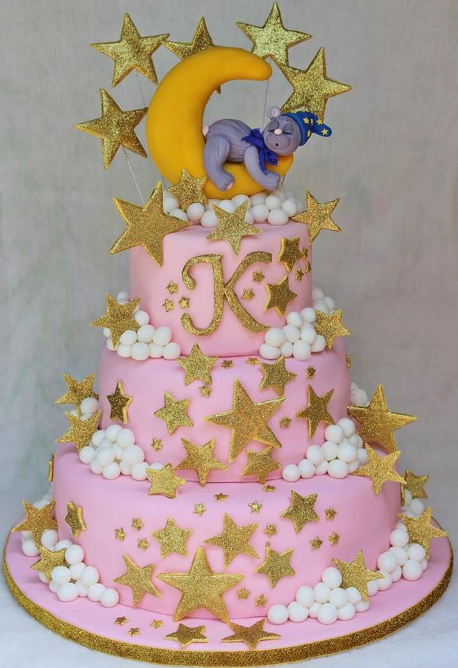 Twinkle Twinkle Little Star Cake Baby Shower Star