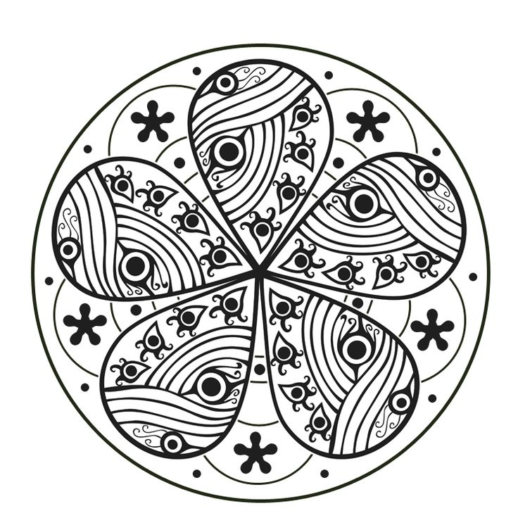 I Was So Inspired By The Mandala Coloring Pages That Had To Look For More Designs Are Intricate Is Like Meditation