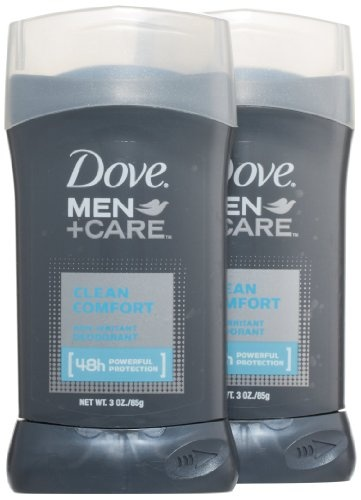 Dove Men + Care Deodorant, Clean Comfort, I Sweat All-Day at work, but my Pits smell fresh, even after a 12-Hour Shift!
