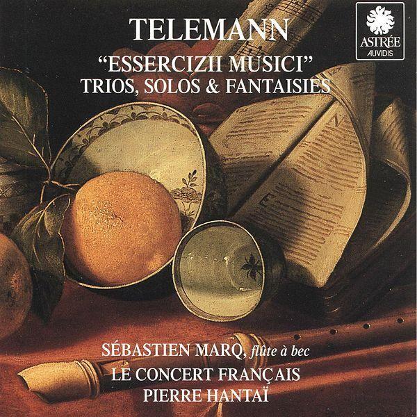 """De álbum """"Telemann: Essercizii Musici, Trio, Solos & Fantaisies"""" del Le Concert Français, Pierre Hantaï, Sébastien Marq en Napster"""