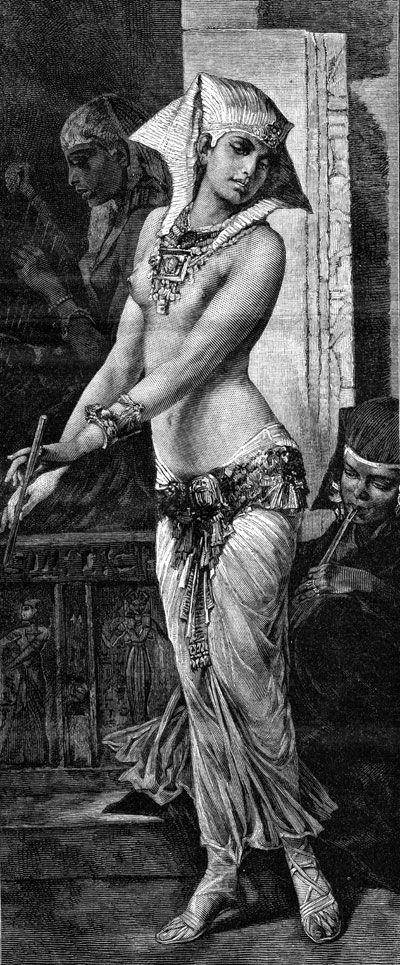 Ancient Egypt Clothing - Image 4 I like the belt. ahem, I would wear a top