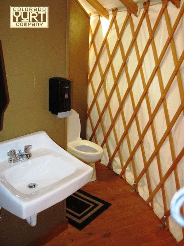 1000 images about yurt bathrooms on pinterest yurts for for Yurt bathroom designs