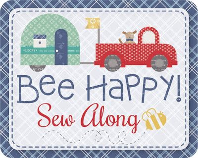 New Fabrics and a Bee Happy Sew Along Update!