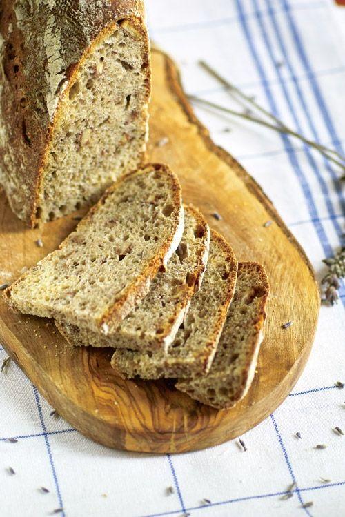 Хлеб с грецкими орехами и лавандой: nelly_z