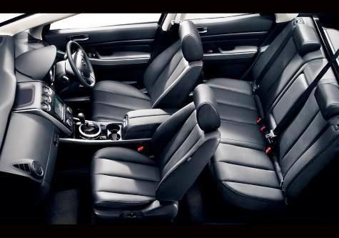 2009 Mazda CX-7 for Best Used SUV Under 15000-cabin