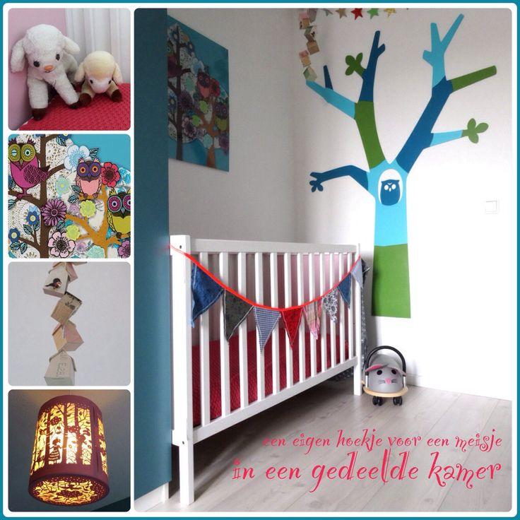 25 beste idee n over gedeelde kamers op pinterest gedeelde slaapkamers gedeelde kamer - Wallpaper voor hoofdeinde ...