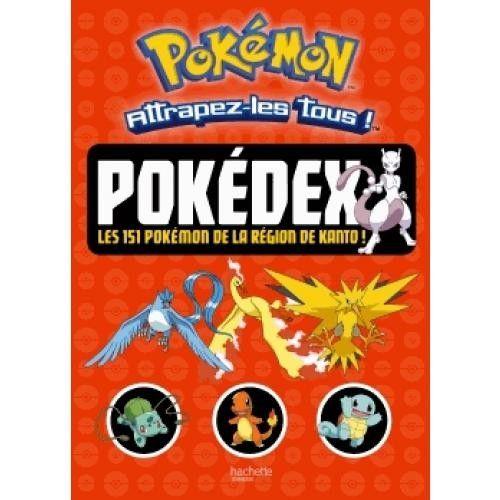 Pokédex - Les 151 Pokémon de la région de Kanto! - Castello | Jeux et Jouets