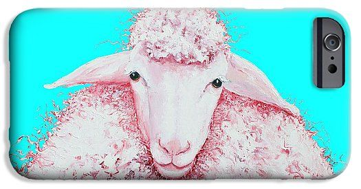 Woolly sheep phone cases