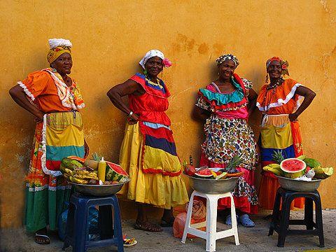 Fruit ladies Cartagena