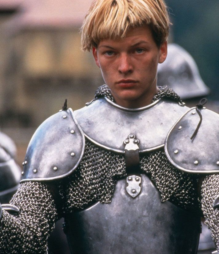 "Milla Jovovich en ""Juana de Arco de Luc Besson"" (The Messenger: The Story of Joan of Arc), 1999"