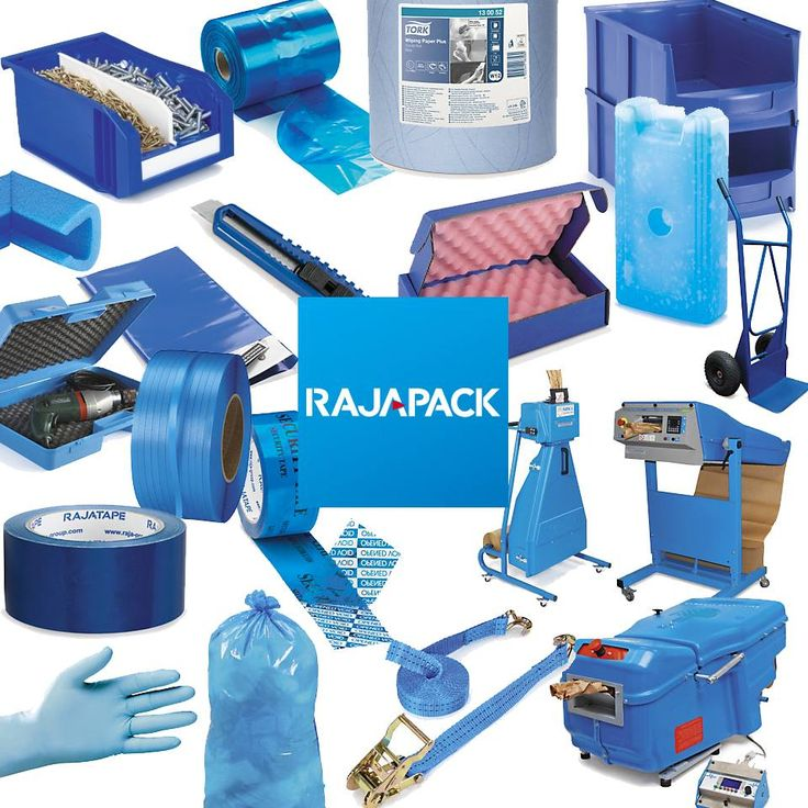 A blue touch. Rajapack