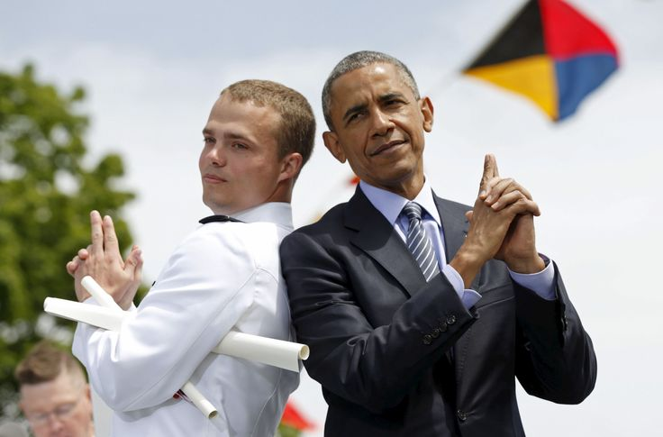 You have to admit President Obama is a good sport (he had to be to tolerate 8 years of Republican racism).
