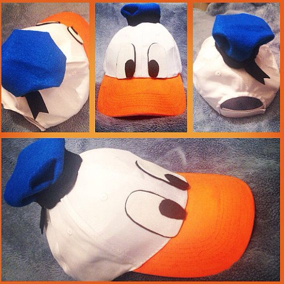 Donald Duck Hat by TreasuredTutu on Etsy, $22.00 - Ryan's Costume