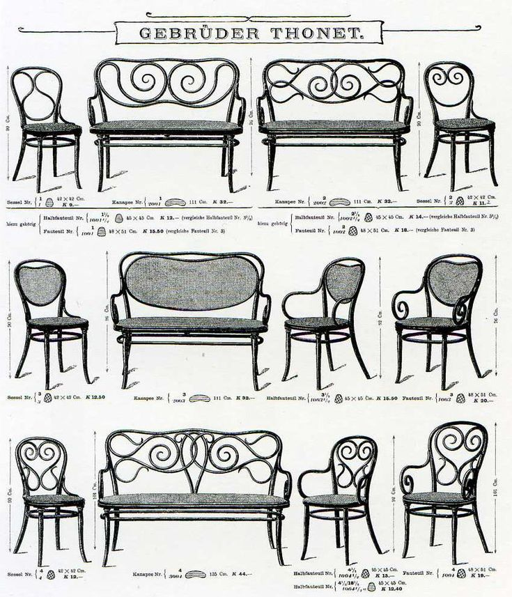 8 best images about thonet catalog pages on pinterest for Thonet stuhl design analyse