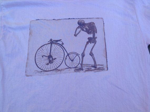 Human anatomy bike  sun print t shirt unisex short by SewObsession