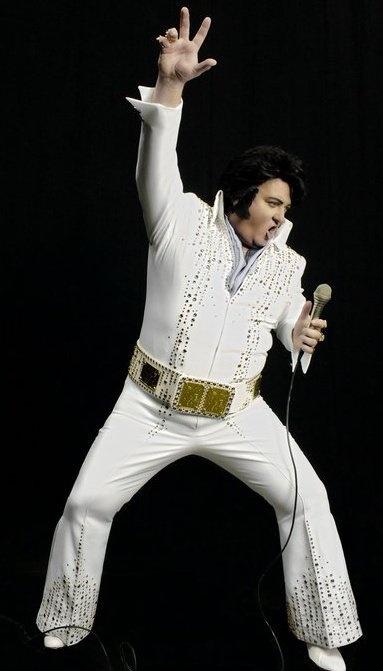 Jeff Lewis performing at Elvis Week Kickoff Show at The Hard Rock Cafe, Nashville 8/9/12!: Elvis Wedding
