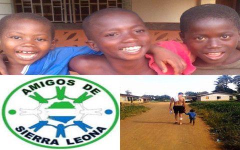 Foto cortesía de AMIGOS DE SIERRA LEONA. La crisis del Ébola en Sierra Leona ha...