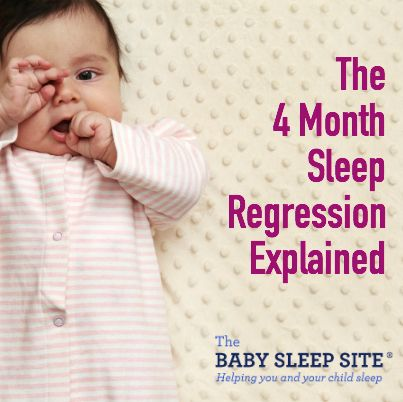 4 Month Sleep Regression Explained (sometimes 3 and 5 months too)