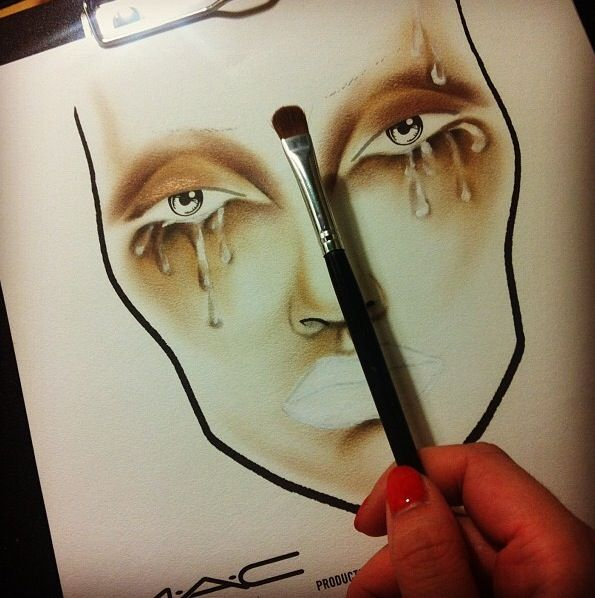 #makeup #facechart #inspiration #artist #beauty #mac #cosmetics