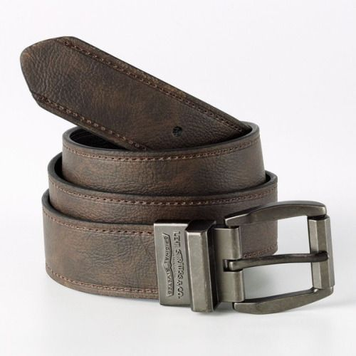 Levi's Reversible Leather Belt   ❤ liked on Polyvore