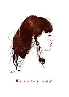 """Russian Red"" de David Valentín: Fashion Icons, Style Inspiration, Russian Red, David Valentín, De David, Random Art Illustrations, Poster Music"